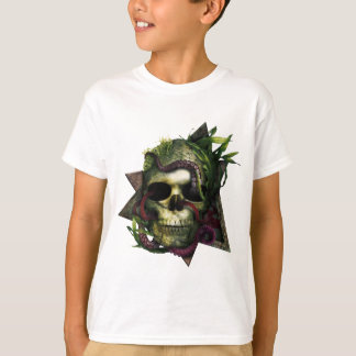 Grunge de crâne de poulpe t-shirt
