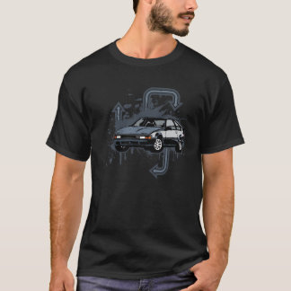 Grunge de deux tons t-shirt