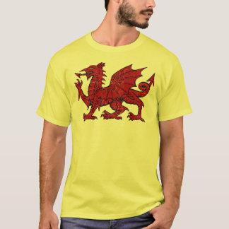 Grunge de dragon de Gallois - T-shirt d'Eco des