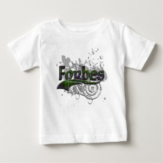 Grunge de tartan de Forbes T-shirt Pour Bébé