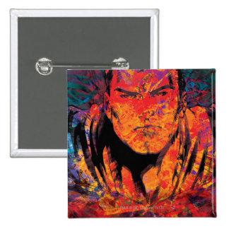 Grunge d'orange de Superman Pin's
