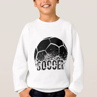 Grunge du football t-shirt
