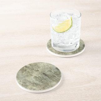 Grunge en pierre dessous de verres