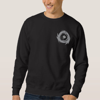 Grunge gentille de circulaire de billard sweatshirt