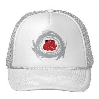 Grunge gentille de circulaire de boîte casquettes de camionneur