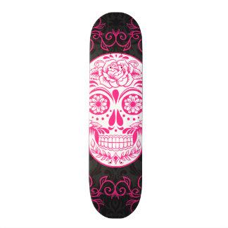 Grunge gothique de sucre de roses indien de roses  plateaux de skateboards customisés