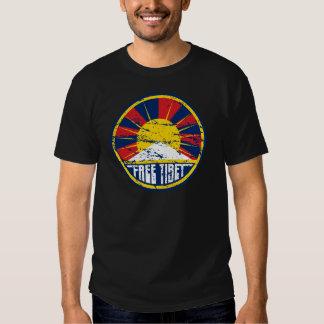 Grunge ronde libre du Thibet T-shirt