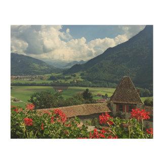 Gruyère Suisse Impression Sur Bois