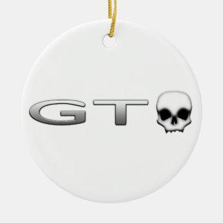 GTO ORNEMENT ROND EN CÉRAMIQUE