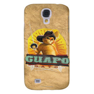 Guapo Gato Coque Galaxy S4
