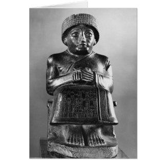 Gudea, prince de Lagash Carte De Vœux