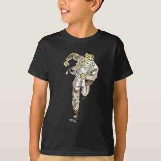 guépard illustration t-shirt