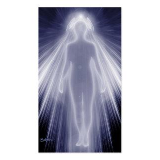 Guérison angélique carte de visite standard