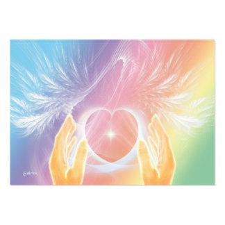 Guérison avec des anges carte de visite grand format