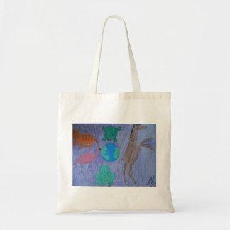 Guérison avec l'art sac en toile