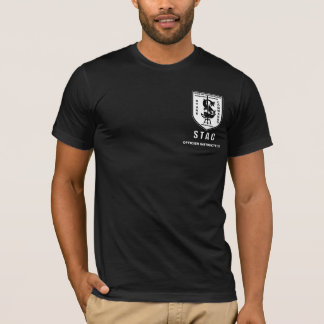 Guerre biologique AVANT de STAC, OFFICIER T-shirt