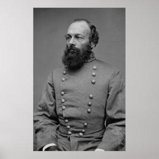 Guerre civile américaine de portrait d'Edmund Kirb Affiches