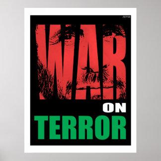 Guerre contre le terrorisme poster
