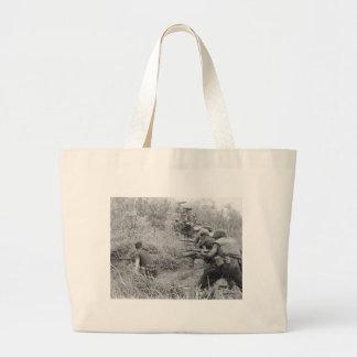 Guerre de Vietnam Grand Tote Bag
