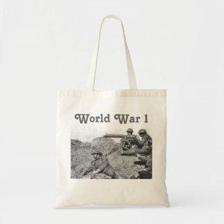 Guerre mondiale 1 sac en toile budget