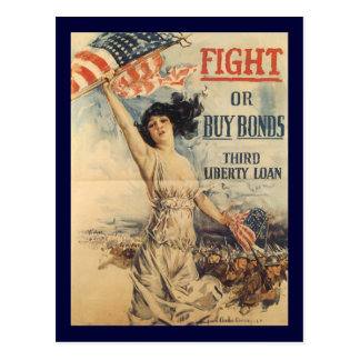 Guerre mondiale de combat 2 carte postale