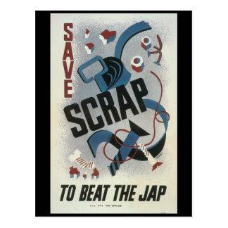 Guerre mondiale de mitraille 2 cartes postales