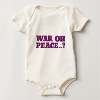 Guerre ou paix body