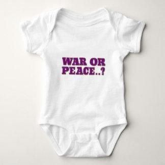 Guerre ou paix t-shirt