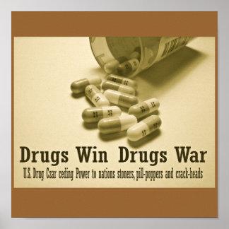 Guerre sur des drogues posters