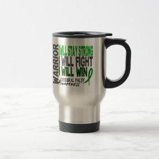 Guerrier d infirmité motrice cérébrale mugs à café