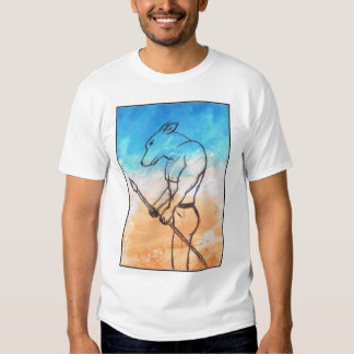 Guerrier de chien t-shirt