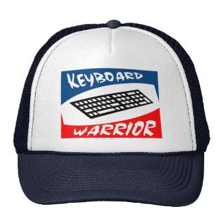 guerrier de clavier casquettes