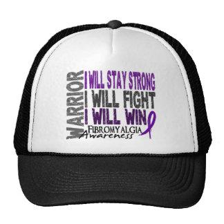 Guerrier de fibromyalgie casquettes de camionneur