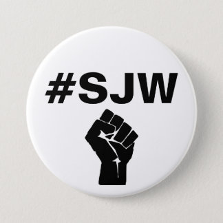 Guerrier de justice sociale de #SJW Badge