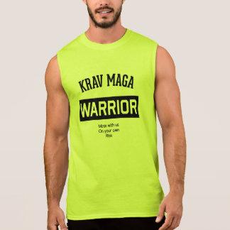 Guerrier de Krav Maga Tee-shirts Sans Manches