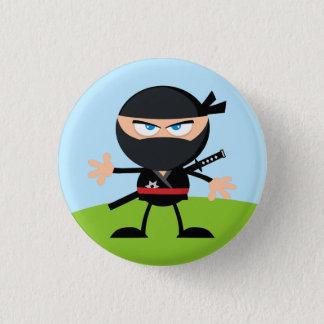 Guerrier de Ninja de bande dessinée Badges