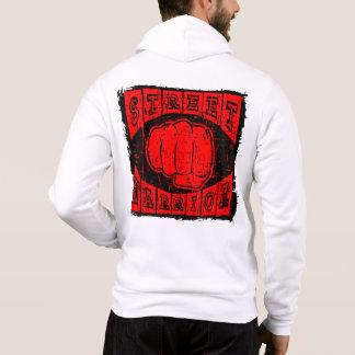 guerrier de rue pull à capuche