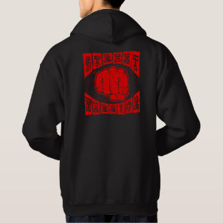 guerrier de rue veste à capuche
