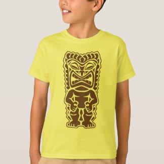 Guerrier de totem de Tiki T-shirt