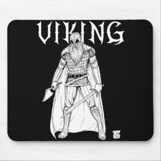 Guerrier de Viking Tapis De Souris