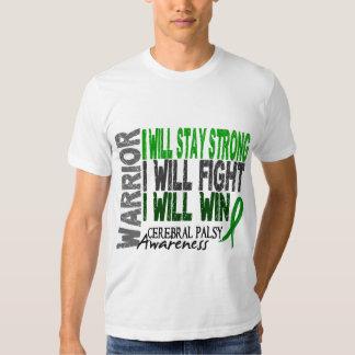 Guerrier d'infirmité motrice cérébrale t-shirt