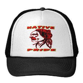 Guerrier indigène #3 de fierté casquettes