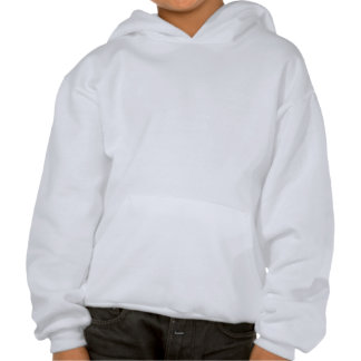Guerrier v3 de leucémie sweat-shirts avec capuche