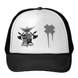 guerriers de hache de bataille, x mou casquette trucker