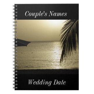 Guestbook de mariage de Negril Jamaïque Carnet