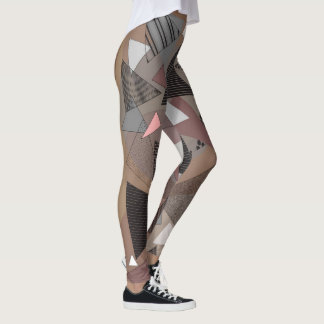 """Guêtres avec sierra"""" conception la """"de triangles leggings"""
