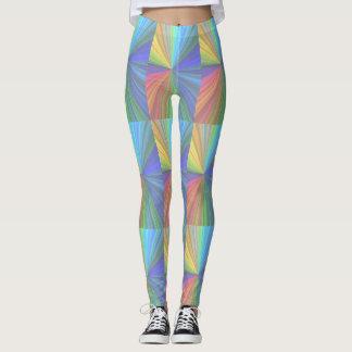 Guêtres colorées géniales leggings