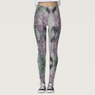 Guêtres de glycines leggings