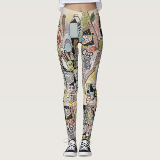 Guêtres de sableuse de ghetto leggings