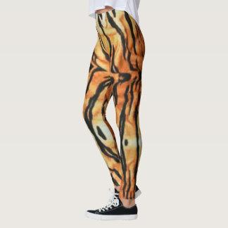 Guêtres de tigre leggings